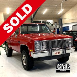 Chevy K10 Sold